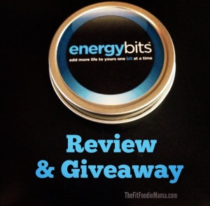 ENERGYbits Review & Giveaway via TheFItFoodieMama.com