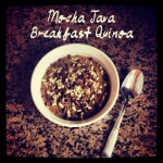 Mocha Java Breakfast Quinoa