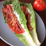 Breadless BLT