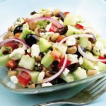 Cucumber & Black Eyed Pea Salad