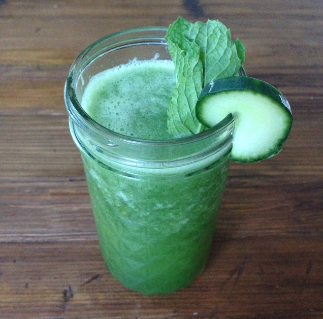 Refreshing Thirst Quencher Green Smoothie