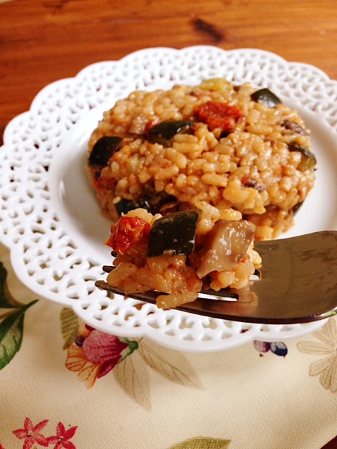 #MeatlessMonday Risotto Primavera