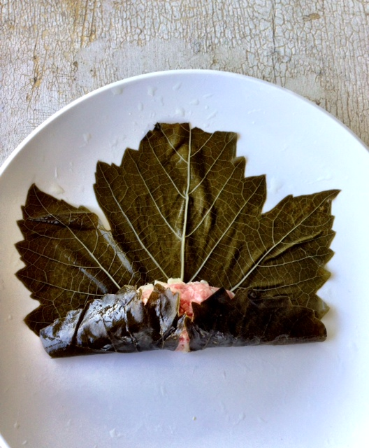 Stuffed Grape Leaves Recipe #GlutenFree #FoodieFriday
