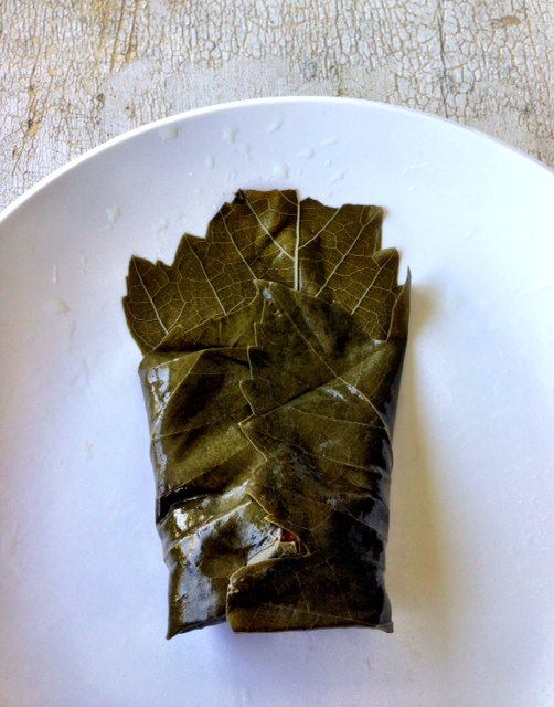 Stuffed Grape Leaves #GlutenFree #FoodieFriday