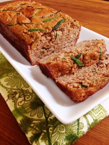 Foodie Friday: Vanilla Spice Zucchini Bread #GlutenFree