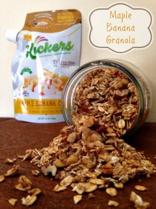 Maple Banana Nut Granola