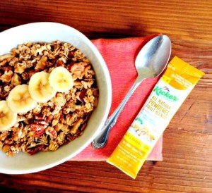 Kickers Maple Banana Nut Granola #GlutenFree #Healthy