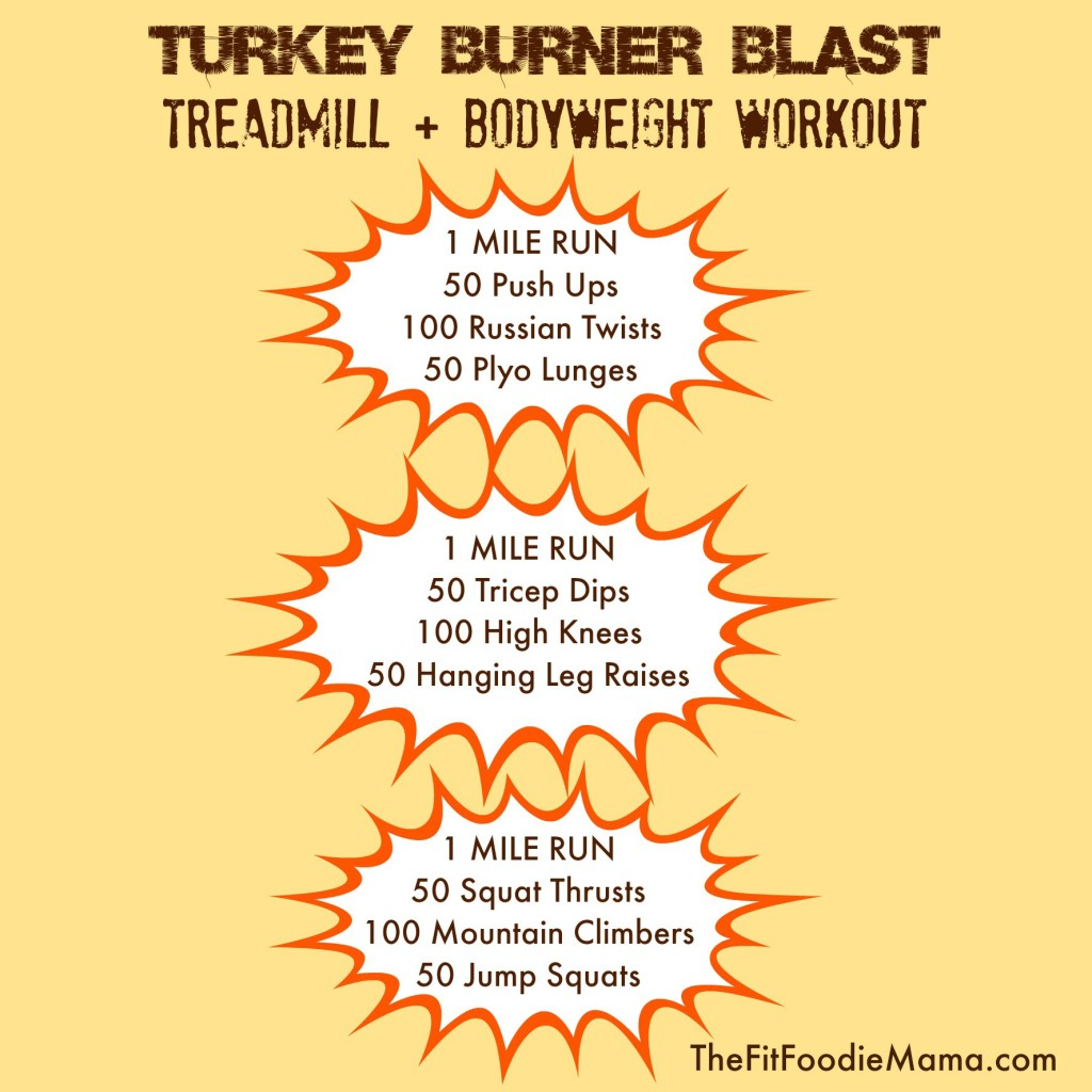 Turkey Burner Blast: Treadmill + Bodyweight Workout with Lebert Equalizer Discount Code and Uber Fit Apparel Giveaway