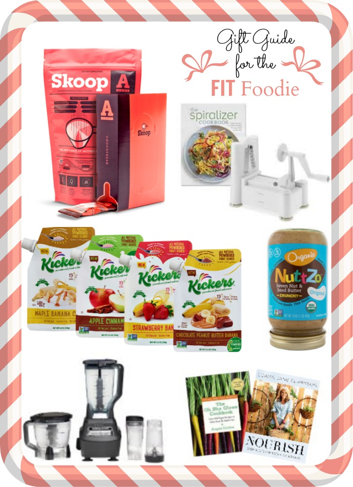 Gift Guide for the Fit Foodie