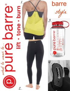 What to wear to Pure Barre Class