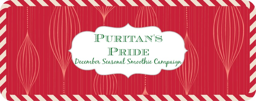 Puritan's Pride December Smoothie Campaign