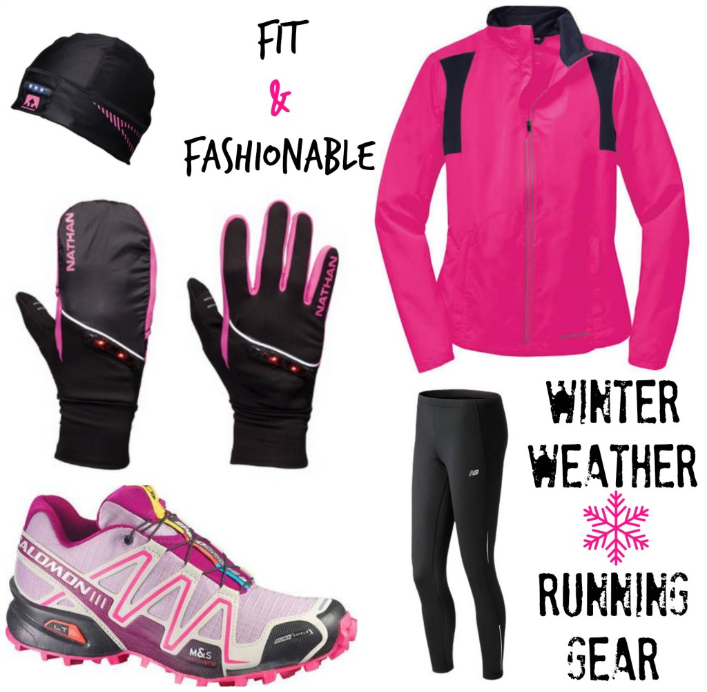 Fit and Fashionable Winter Weather Running Gear