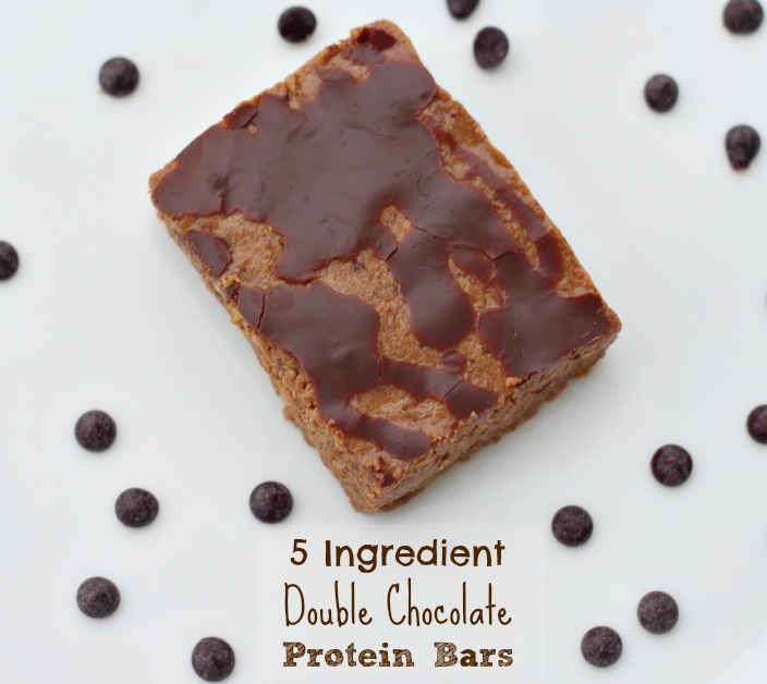 Double Chocolate Protein Bars {Gluten Free, Vegan}