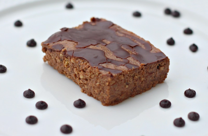 5 Ingredient Double Chocolate Protein Bars {Gluten Free, Vegan}