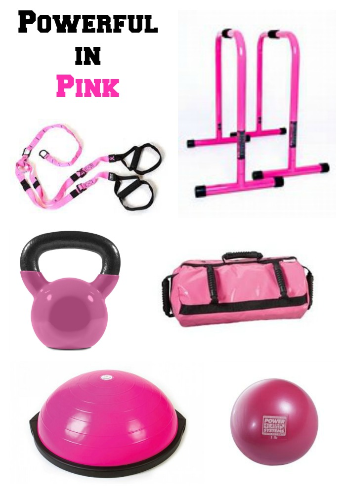 Powerful in PINK Workout Gear