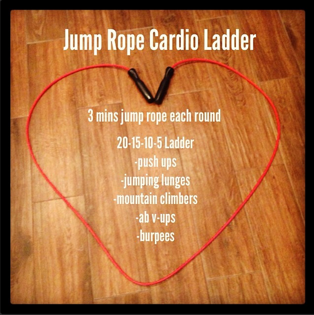 Jump Rope Cardio Ladder