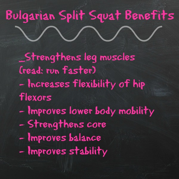 Bulgarian Split Squat Benefits