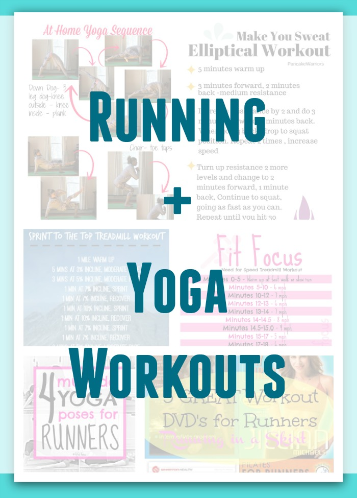 Running and Yoga Workouts: Wild Workout Wednesday Round Up
