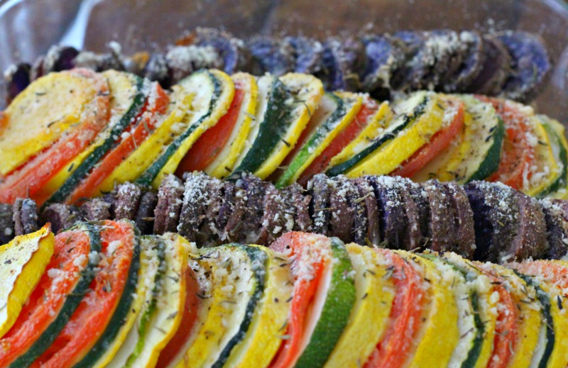Vegetable Tian with Quinoa