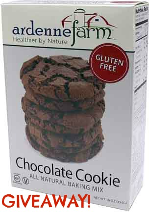 Ardenne Farm Gluten Free Chocolate Cookie Mix Giveaway