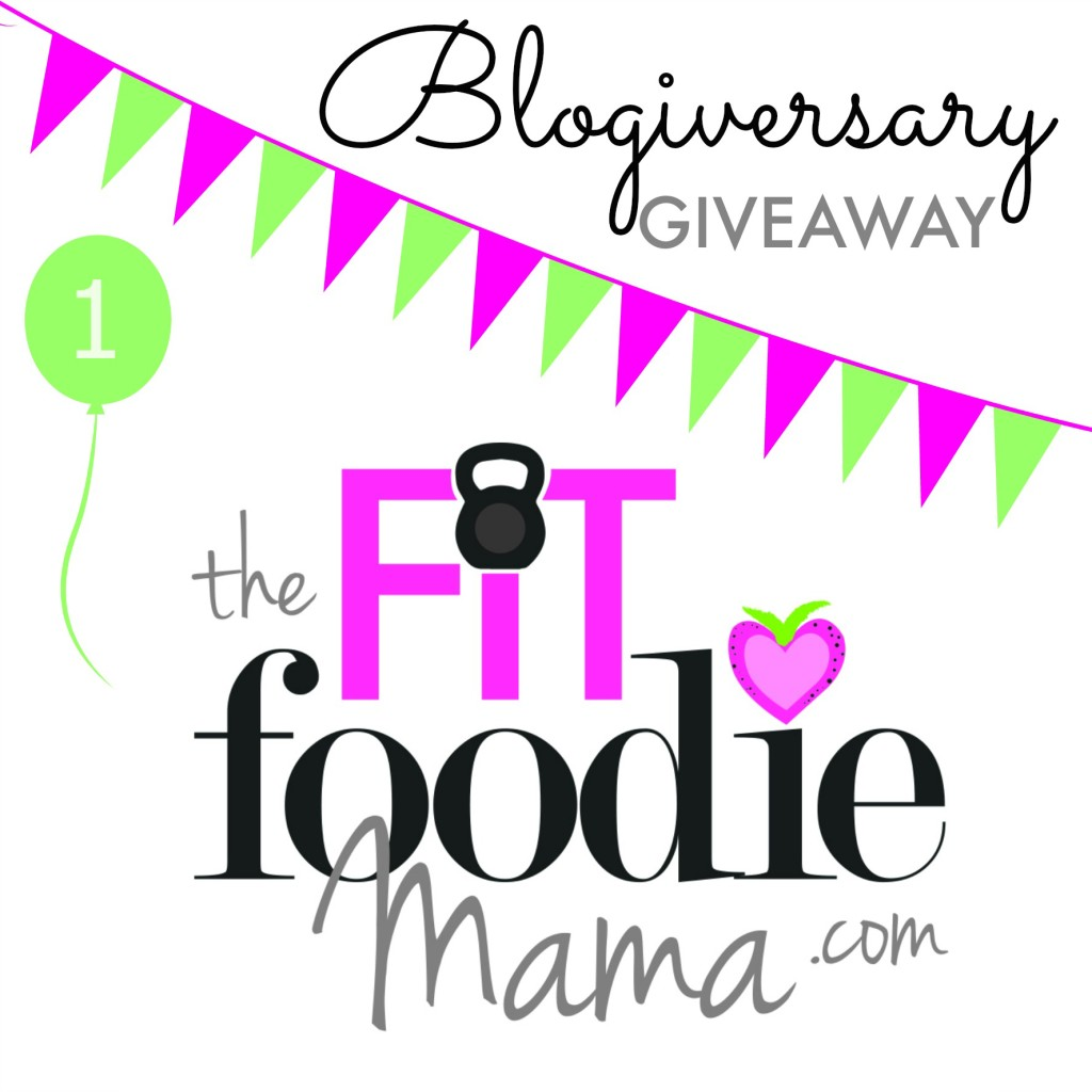 The Fit Foodie Mama Blogiversary Giveaway