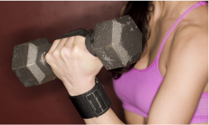 Weightliftinggloves.com Wrist strap support giveaway | The Fit Foodie Mama Blogiversary Giveaway