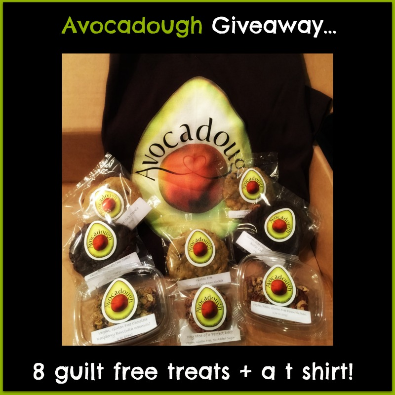 Avocadough Giveaway! Gluten free, vegan, paleo, avocado