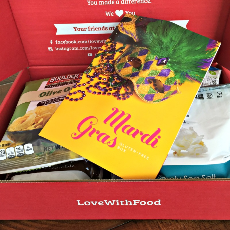 Love with Food G-Free Box Review and Giveaway