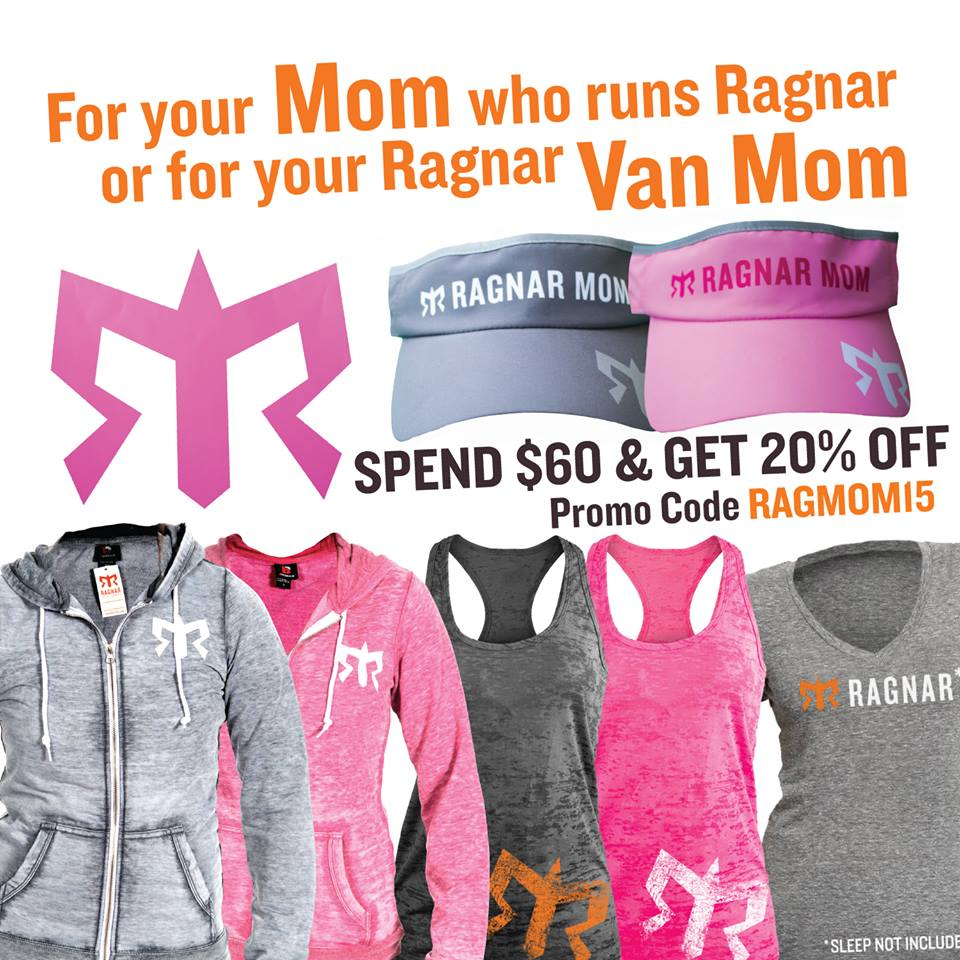 Ragnar Relay Van MOM