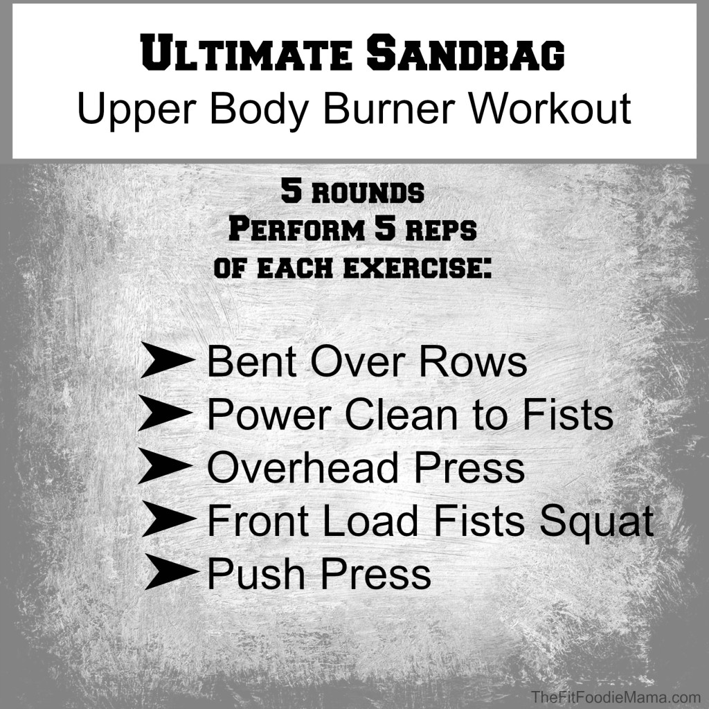 Ultimate Sandbag Upper Body
