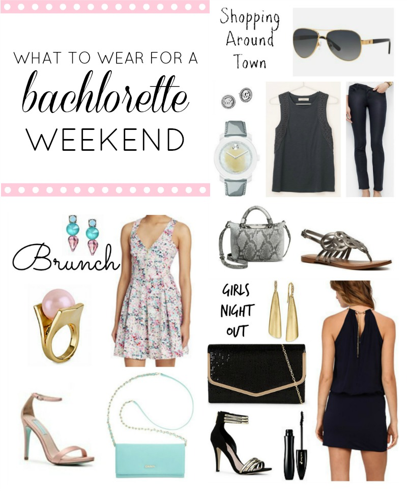 What to Wear for a Bachlorette Weekend