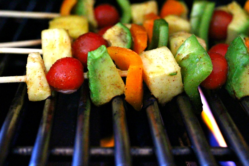 Grilled Honey Lime Fiesta Kabobs