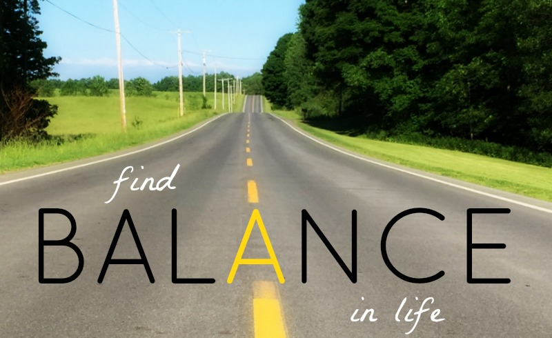 Find Balance In Life Quote