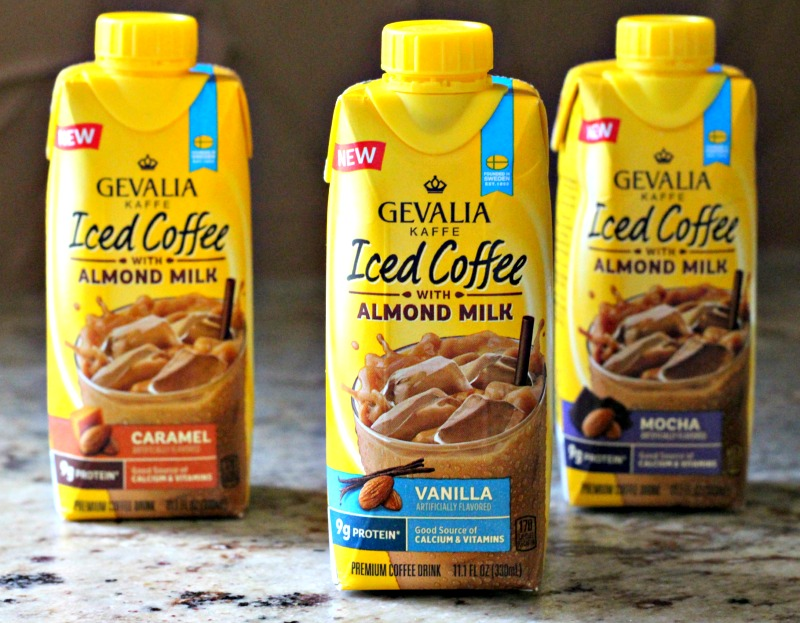Gevalia Iced Coffee with Almond Milk