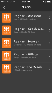 Pear Sports Ragnar Training Plan
