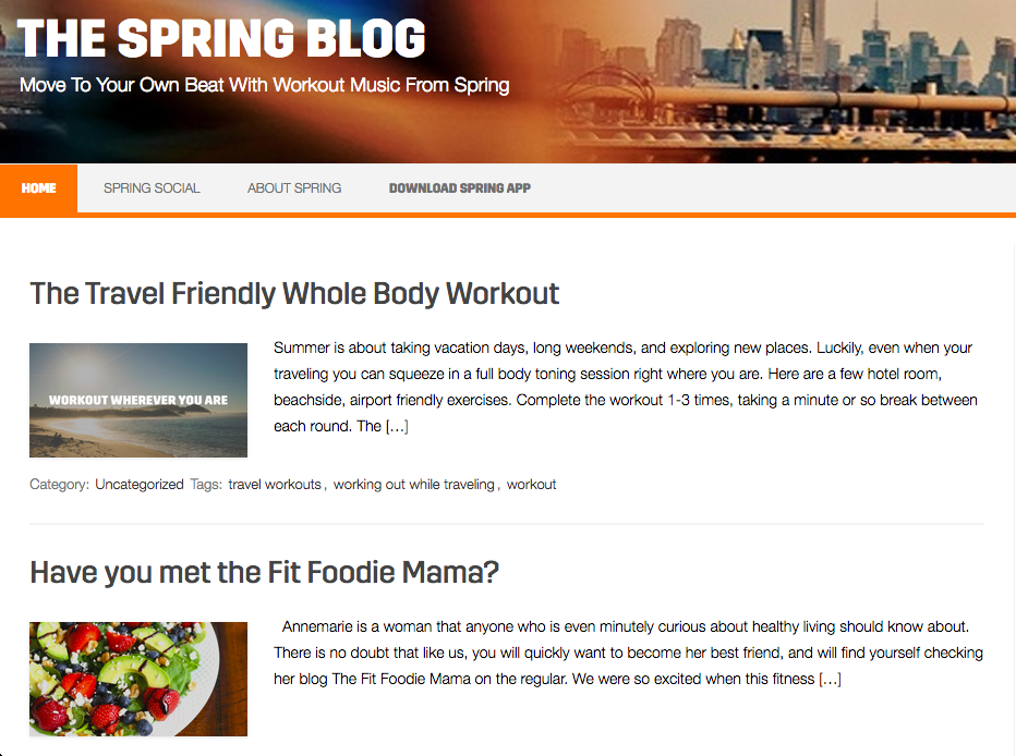 Spring Moves Blog Fit Foodie Mama