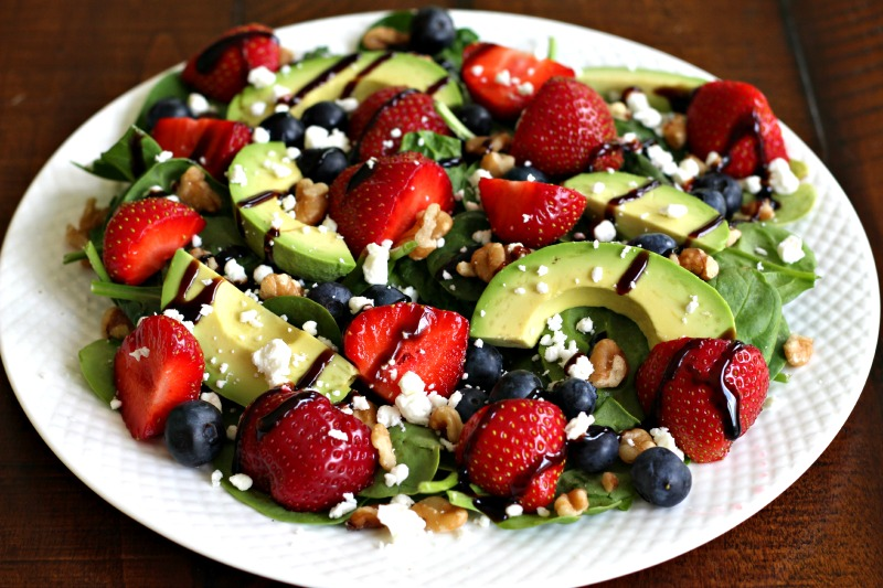 Strawberry Fields Summer Salad