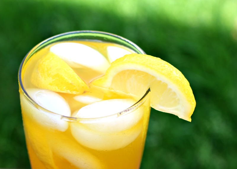 Turmeric Ginger Iced Tea