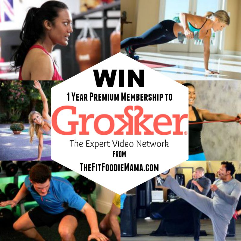 Grokker 1 Year Premium Membership Giveaway from @FitFoodieMama #sweatpink #1millionminutes #grokkermillion