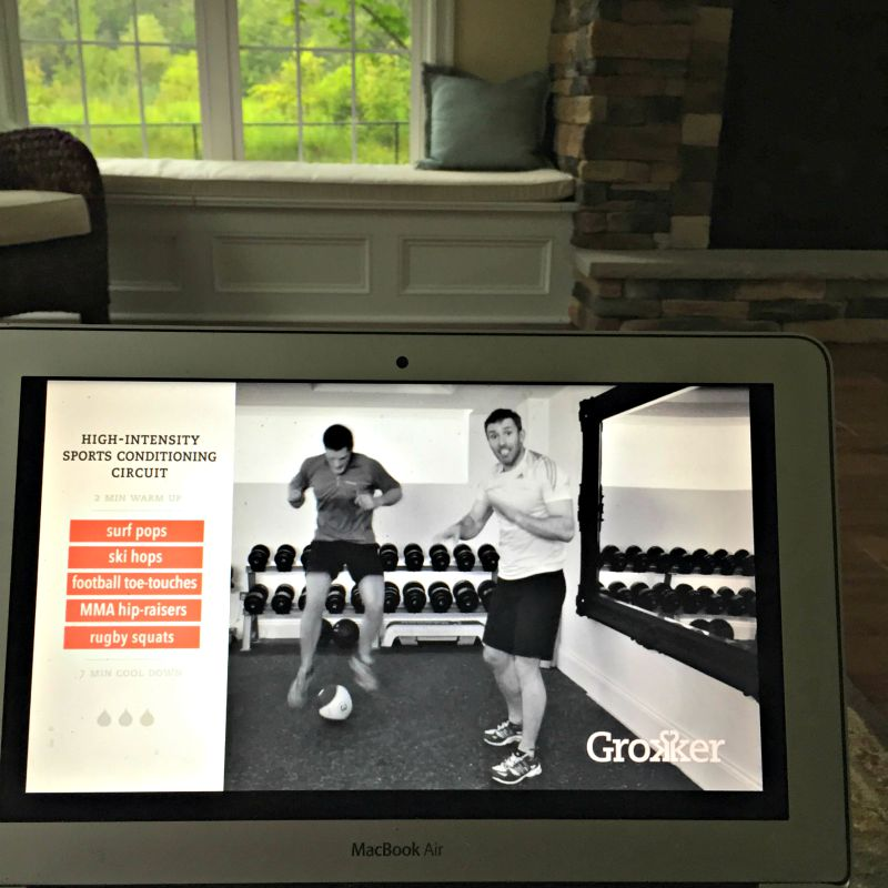 Workout at home with Grokker plus 1 Year Membership Giveaway!