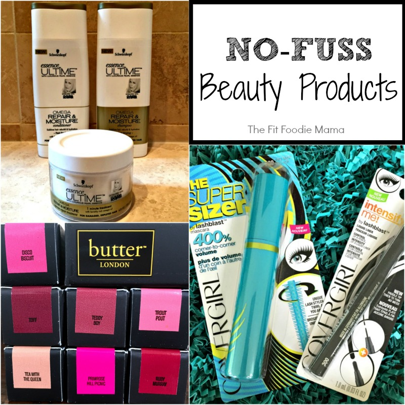 Fit'n'Fashionable: No Fuss Beauty Products + Butter London Giveaway! - The Fit Foodie Mama