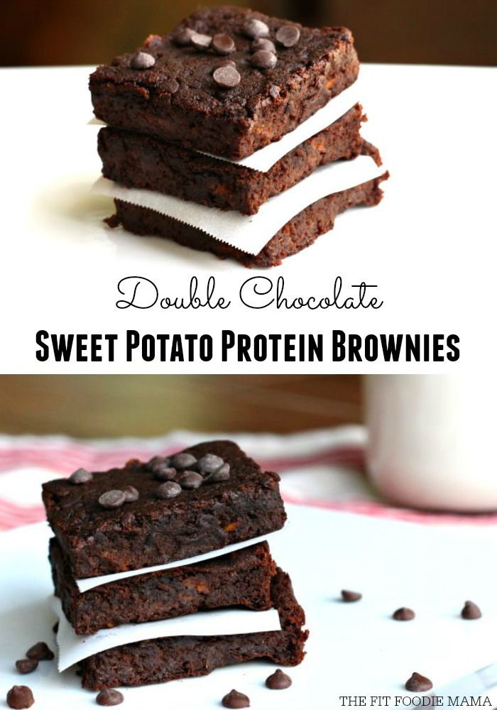Sweet Potato Protein Brownies {gluten free, grain free, dairy free, vegan, soy free, no refined sugar}