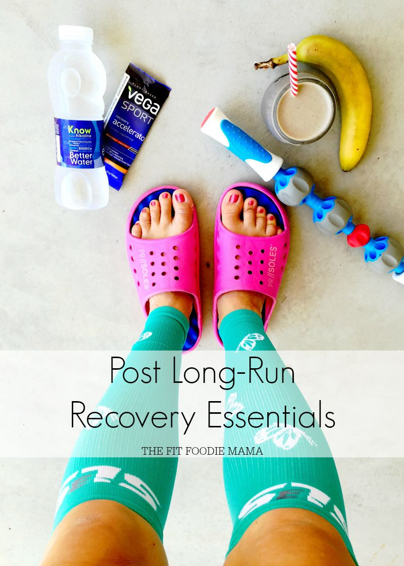 Post Long Run Recovery Essentials + SLS3 Compression Sock Giveaway!