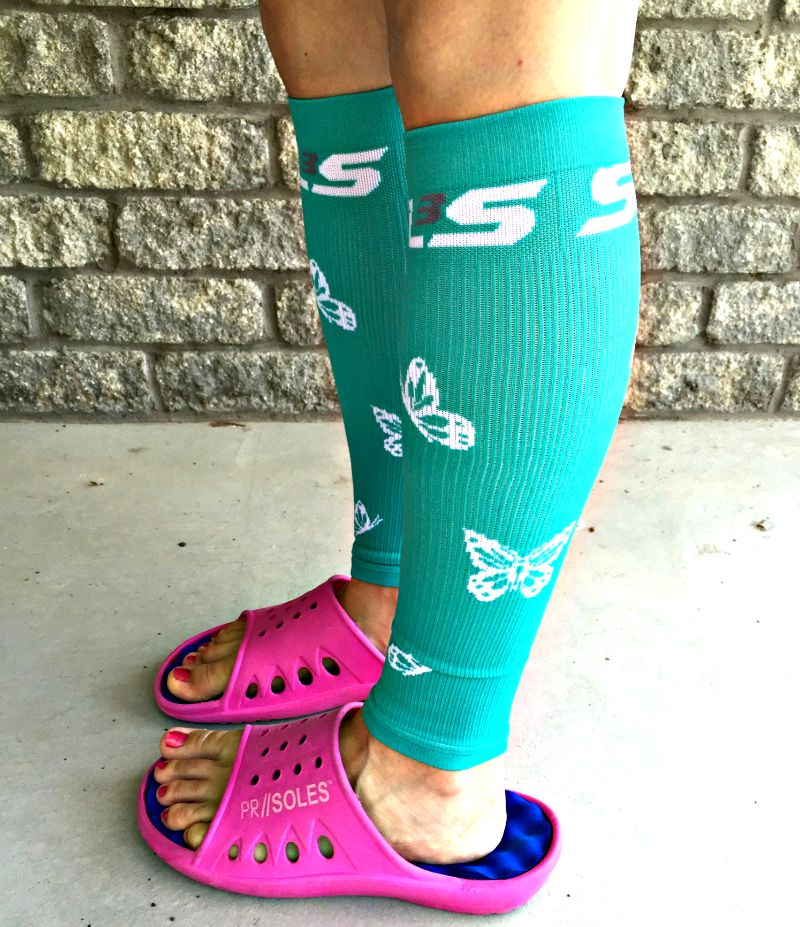 sls3 compression review + giveaway. post long run recovery essentials