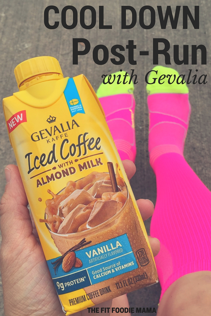 Cool Down Post Run With Gevalia Iced Coffee