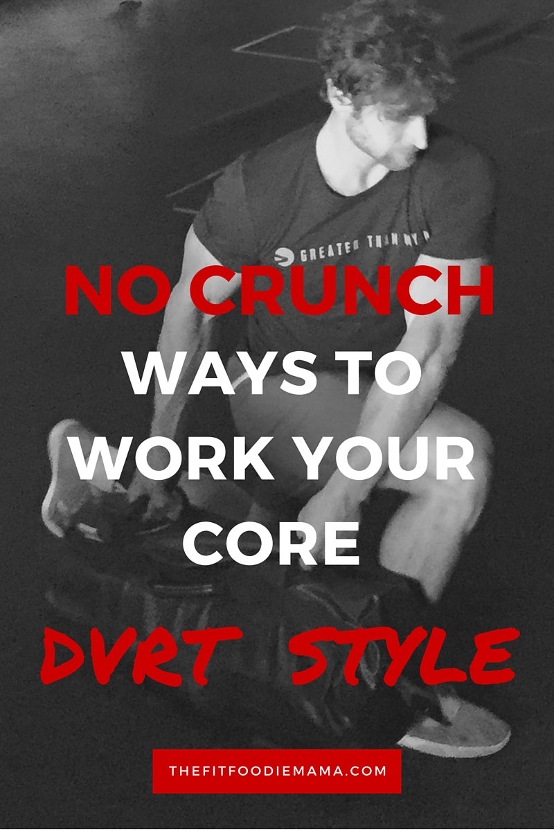 DVRT Ultimate Sandbag No Crunch Ways To Work Your Core