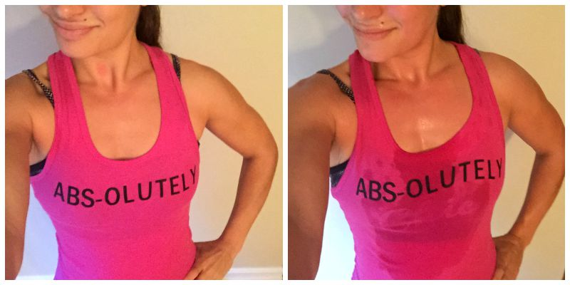 Fit & Flirty Closet ABS-olutely View Sport Tank Top Instagram Giveaway