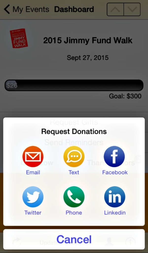 Jimmy Fund App
