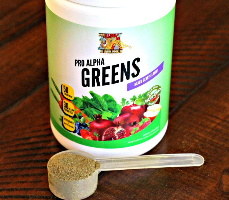 Pro Alpha Greens Powder