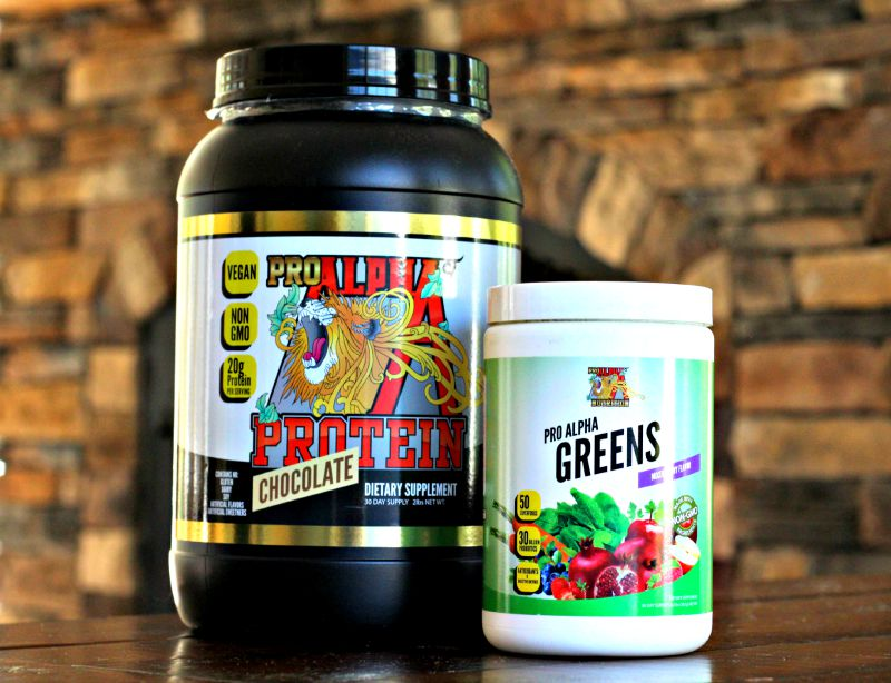 Pro Alpha Protein and Super Greens